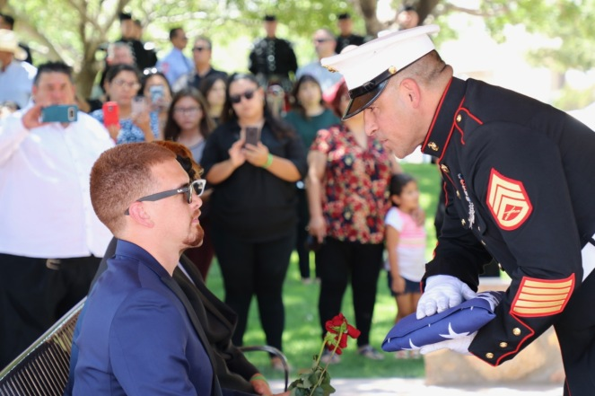 Capt Gallardo Funeral - 16